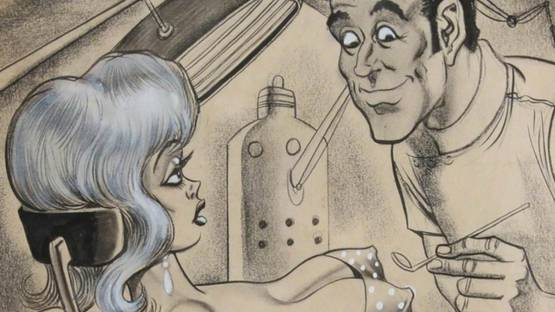 Bill Ward - Oh Doctor! Do you think both will have to come out?, 1981 (detail)