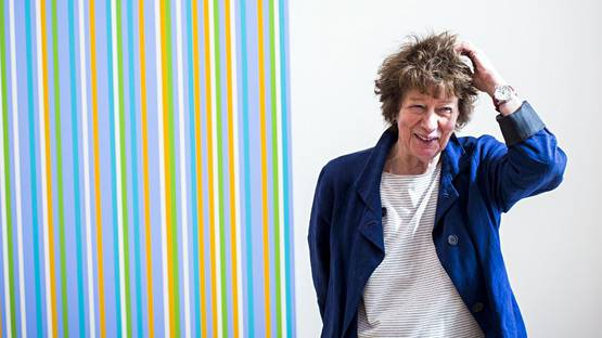 Bridget Riley - Photo of the artist - Image via thatsnotmyagecom
