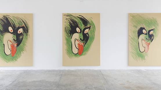Calvin Marcus - Installation view at Peep Hole - image courtesy of Peep Hole
