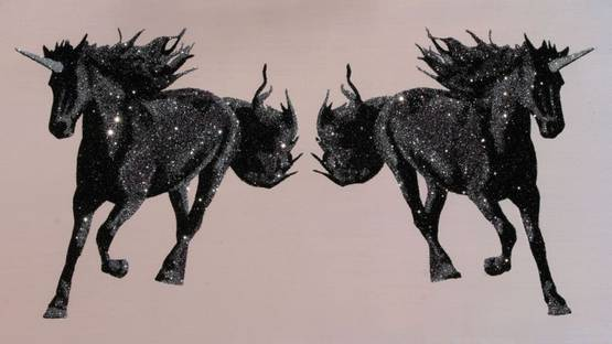 Camomile Hixon - Sliver and Purple Unicorns