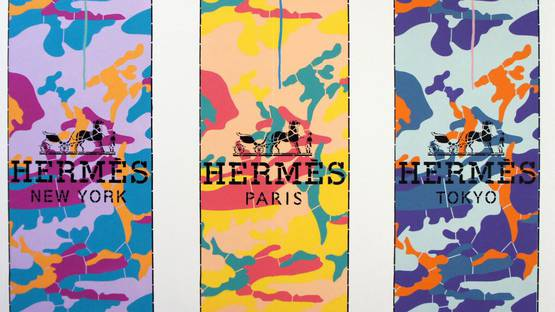Campbell La Pun - Hermes World (Ed. 1 of 3) - Image courtesy of the artist
