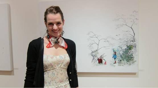 Candice Tripp - artist, photo via arrestedmotion