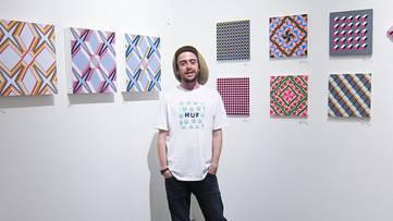 Carl Cashman - artist, photo via arrestedmotion