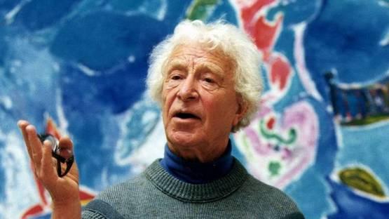 Carl-Henning Pedersen - Portrait of the artist (Detail), photo credits Ekstrabladet.dk