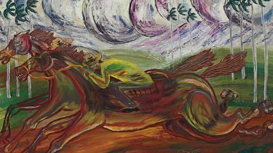 Carlos Enriquez - Untitled - Image via christies