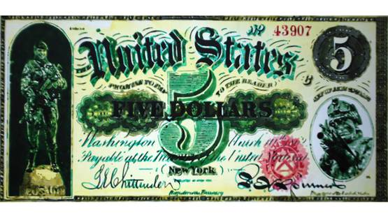 Carlos Salazar Arenas - 5 dollars