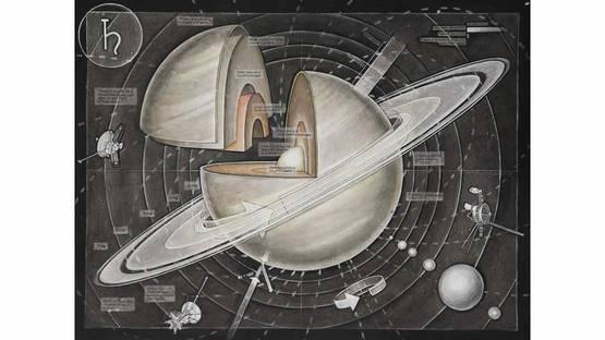 Casey Cripe - Planets: Saturn (v.1.1), 2015