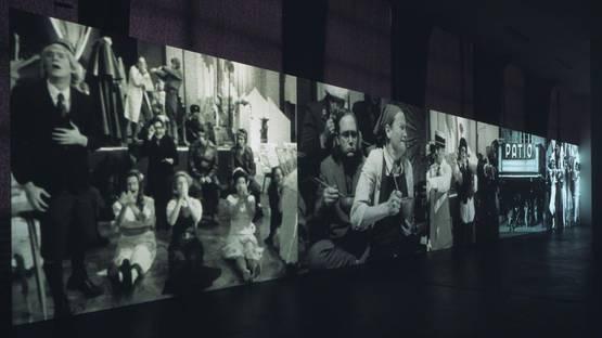 Catherine Sullivan - Installation view at Kunsthalle Zurich, 2005, photo credits the artist and Kunsthalle Zurich