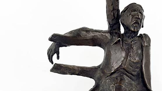 Chapel - Fallen Figure (detail)