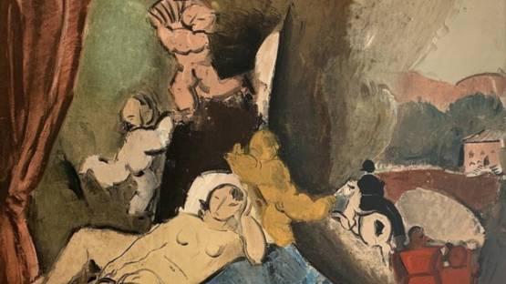 Charles Dufresne - Le Reve, 1923 (detail)