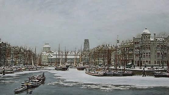 Charles Kemper - Leuvehaven Rotterdam (detail)