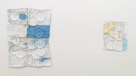 Charlie Hammond - Installation view , Plate interference, 2014