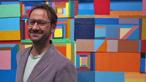 Chris Johanson - Photo of the artist - Image via arrestedmotioncom