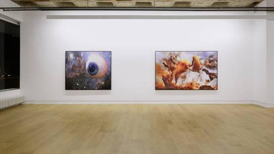 Christoph Steinmeyer - Bilder für Alle und Keinen, Michael Janssen Berlin, 2014, installation view