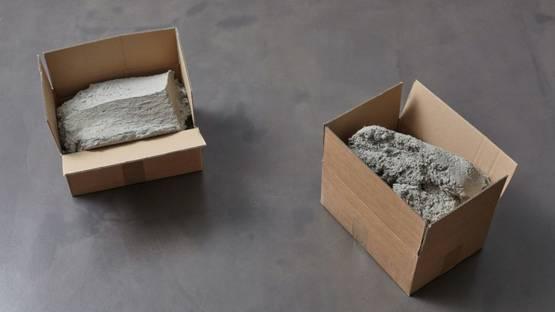Christoph Weber - Carton pierres, 2016