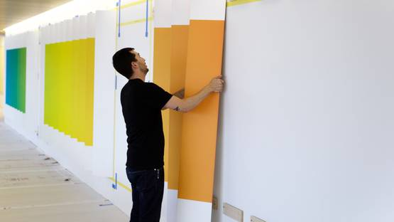 Christopher Derek Bruno - Lenticular wall