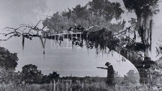 Clarence John Laughlin - Perdido en el Pasado (detail), photo credits of Clarence John Laughlin, via nuncalosabre