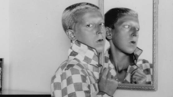 Claude Cahun - Self-portrait (detail), Jersey Heritage Collection, photo via wikiart