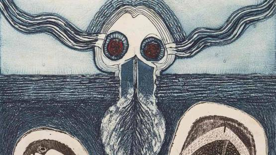 Cláudio Juarez - El Fondo del Mar, 1970 (detail)