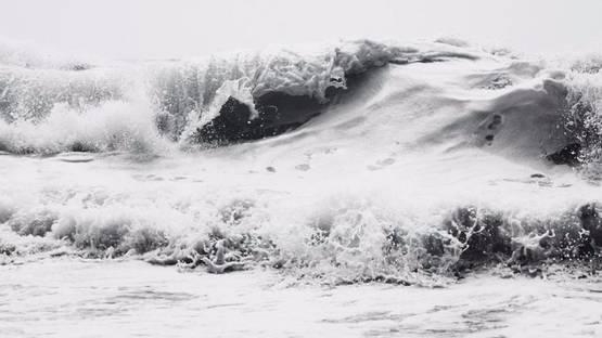 Clifford Ross - Hurricane III, 2000 (detail)
