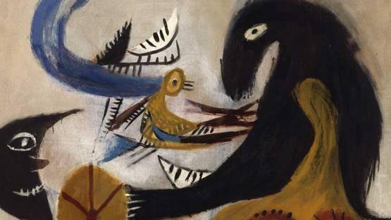 Constant - L Animal Sorcier (The Magician s Animal) - detail - 1949