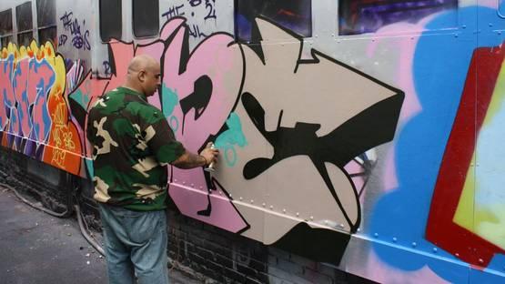 Cope2 - street art #5, photo via graffiti org