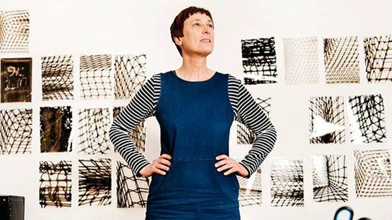 Cornelia Parker - portrait of the artist - photo credit The Guardian