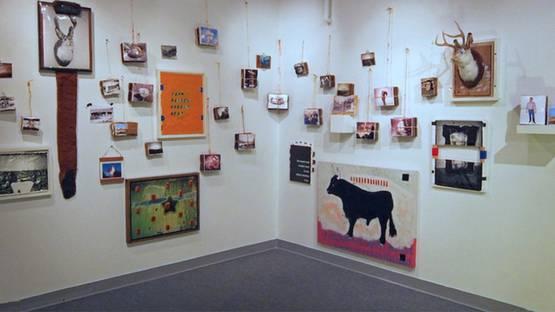 Craig Roper's Installation - Courtesy of the Artist
