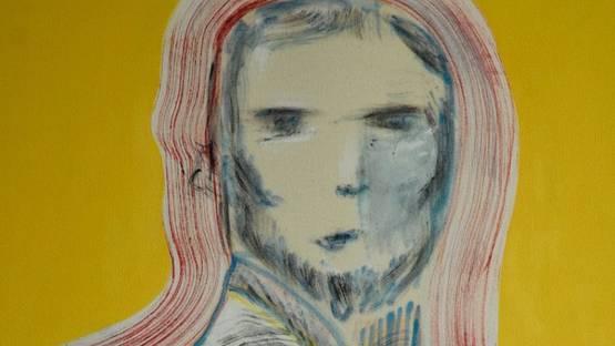 Craig Smith - Anti-hero (detail), oil on canvas, 1200mm x 900mm, photo via kalashnikovv co za