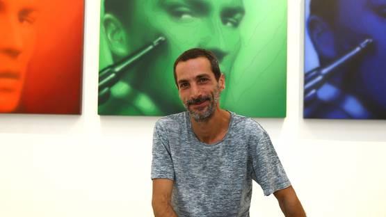 Cristiano Pintaldi - artist - photo by TNP