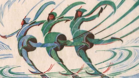 Cyril Edward Power - Skaters (detail) - 1932 - photo credits - Redfern Gallery