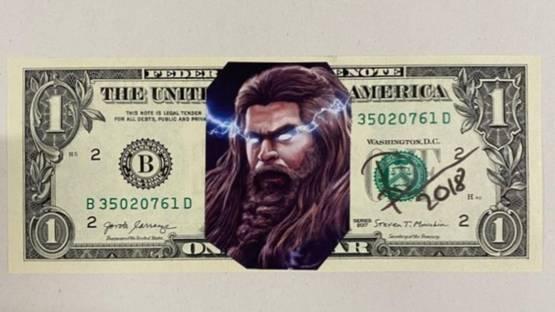 DEATH NYC - Thor One Dollar, 2018