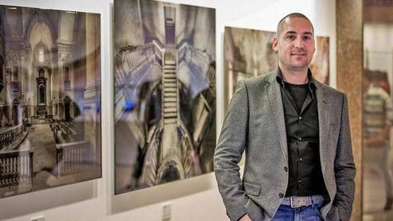 Daan Oude Elferink - Photo of the artist - Image via thehindu