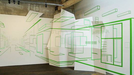 Damien Gilley - Axis Index, Suyama Space, Seattle, WA, photo credits of the artist