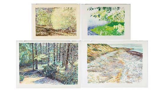 Dan Ziembo - Landscape works, photo by Susanin