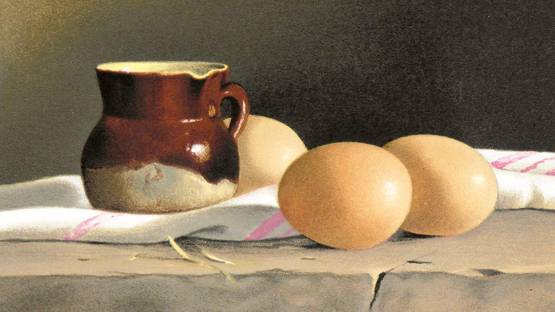 Daneis - Les œufs (detail), 1982 - image courtesy of Gérard Seiwert Gallery