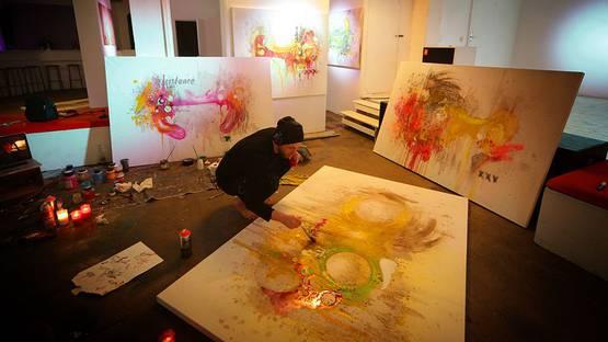 Danny Doom at OZM gallery