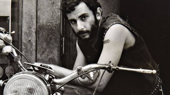 Danny Lyon Self-portrait, Lower Manhattan, 1967 (detail)