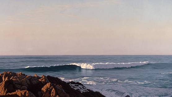 David Ligare - Seascape (detail), 2003 - image courtesy of the artist
