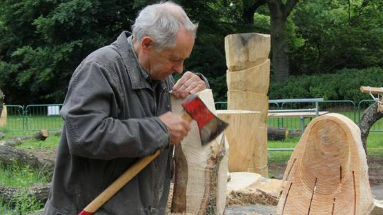 David Nash, photo credits - BBC