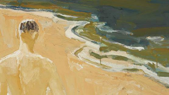 David Park - The Beach (detail)