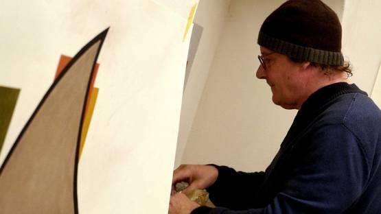 David Tremlett - portrait, image via artribunecom