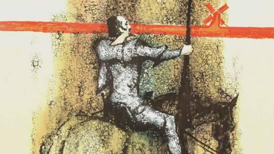 David K. Stone - Don Quixote, 1965 (detail)
