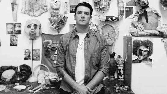 Derek Weisberg - portrait - photo credits Atisha Paulson, image via interviewmagazinecom