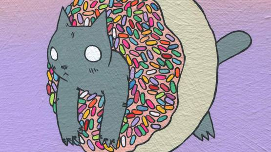 Deth P Sun - Donut Cat