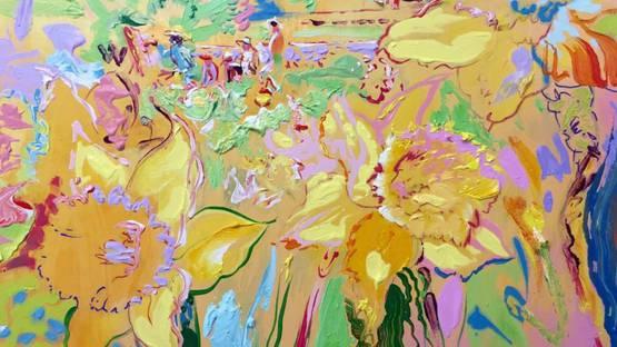 Dmitri Wright - Daffodils Opus I, 2018 (detail)