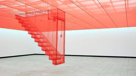 Do-Ho Suh - Staircase - Image via yellowtrace