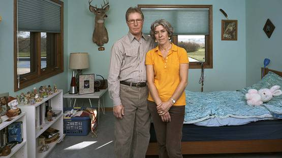 Dona Schwartz - Christina and Mark, 14 Months, 2010 (detail)