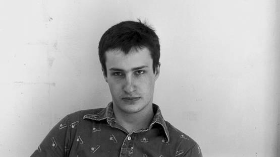 Donald Baechler portrait 1983