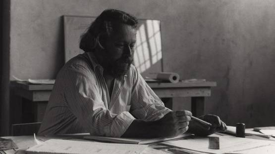Donald Judd - portrait, photo credits James Dearing-Donald Judd Foundation Archive, Licensed by VAGA, NY